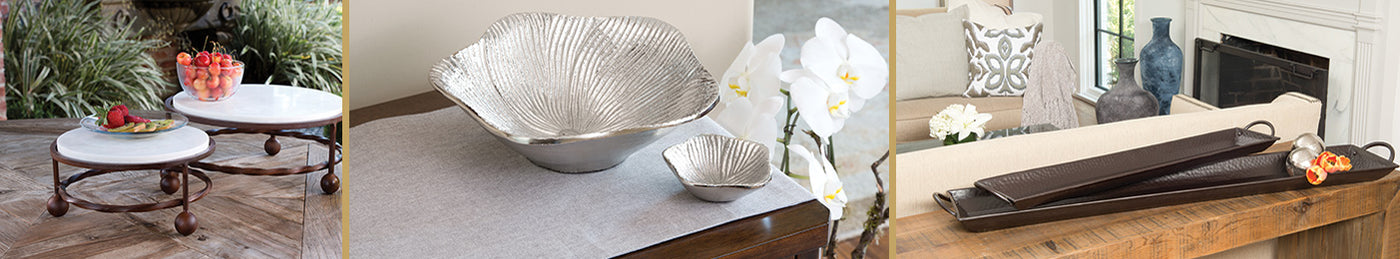 Decorative Bowls Plates Trays