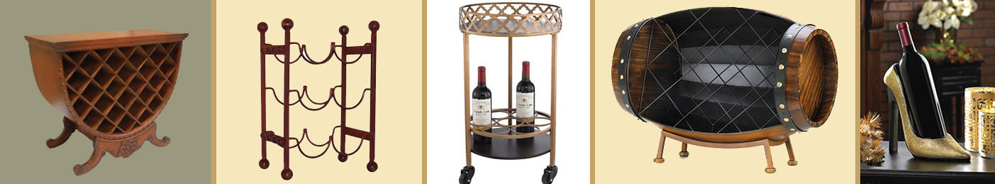 Wine Racks | Carts | Stands
