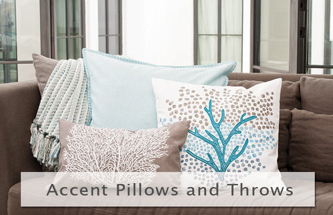 Accent Pillows and Throws