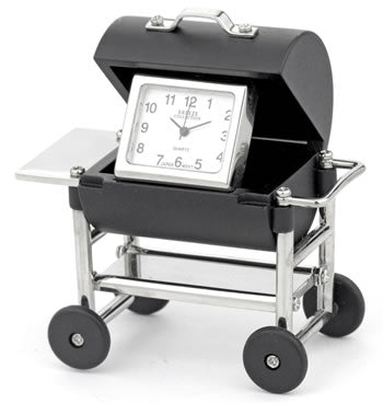BBQ Grill Novelty Desk Clock