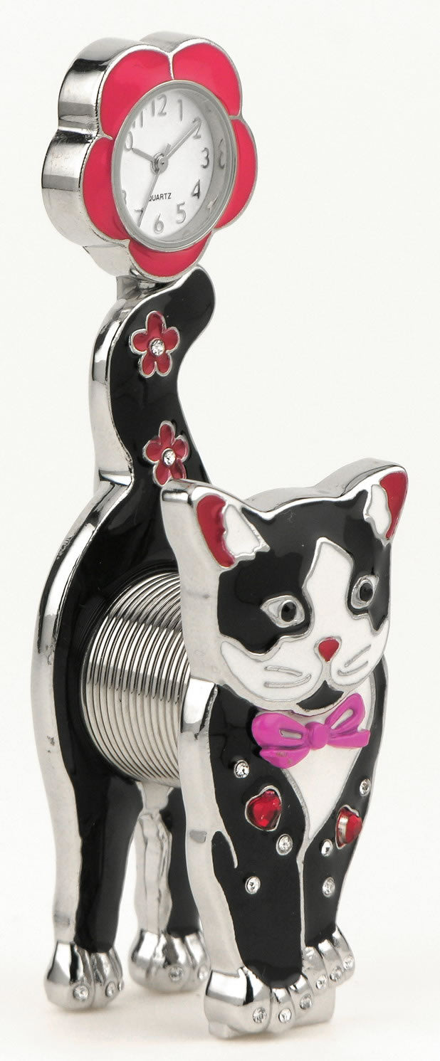 Cat Novelty Desk Clock