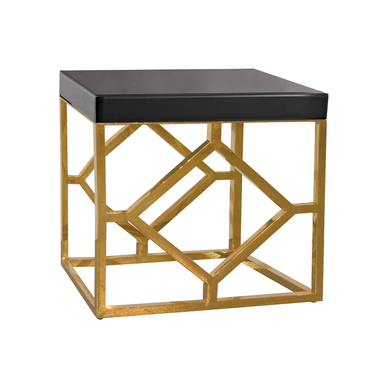 Beacon Towers Accent Table. Black