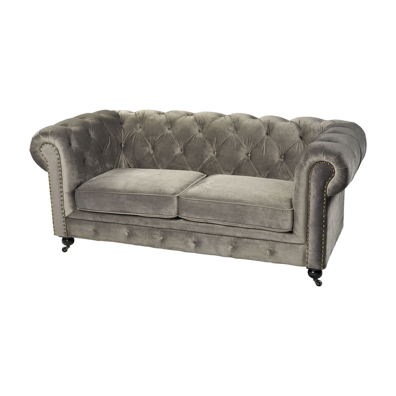 Gypsy Two Seater Sofa. Grey