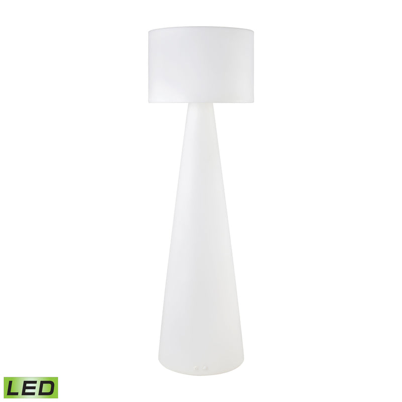JIBE Outdoor Floor Lamp - WHITE