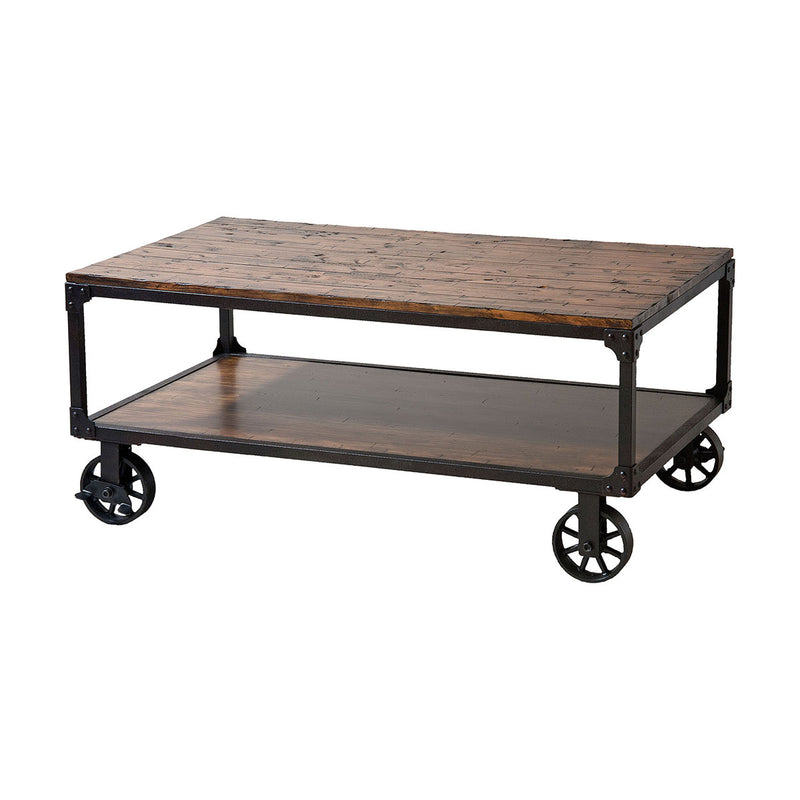 Holly Cart Table in Black
