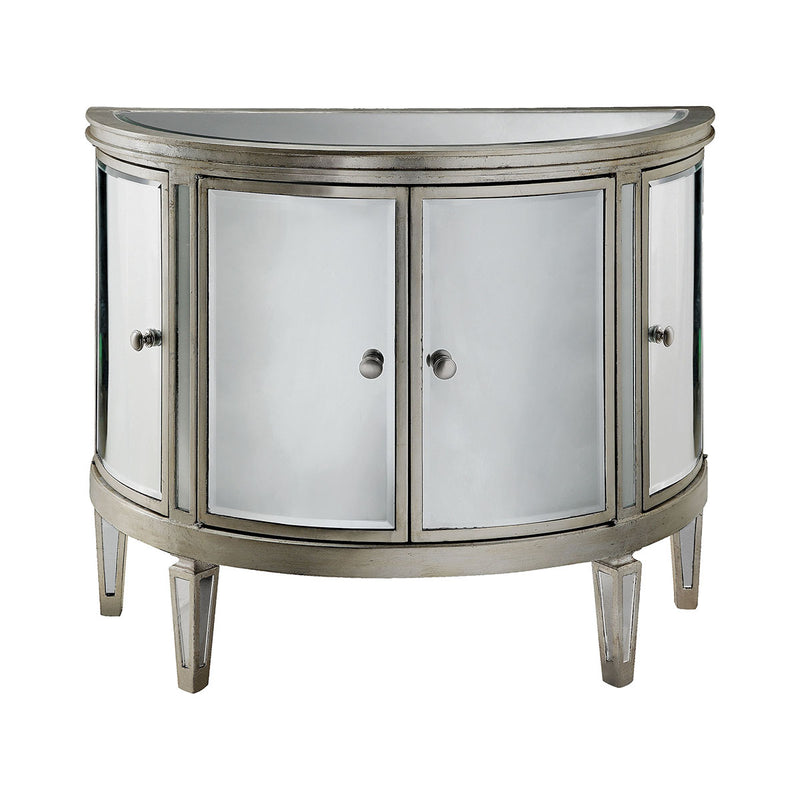 Halton Chest in Antique Silver
