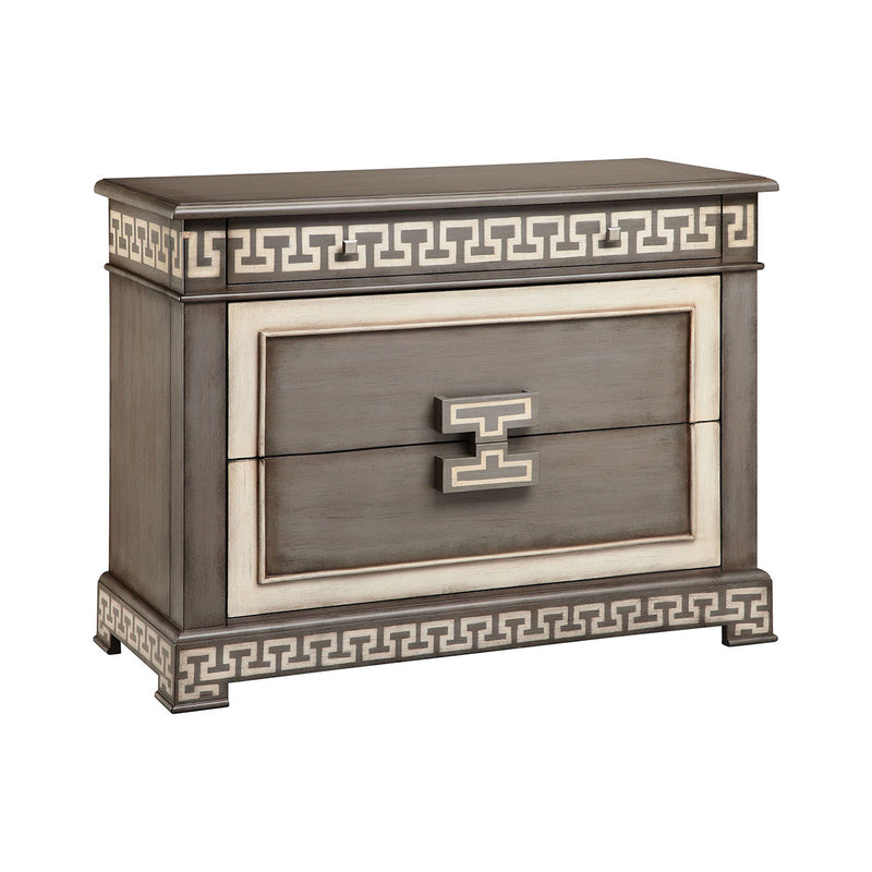 Ronan Chest in Hand-Painted,Gray