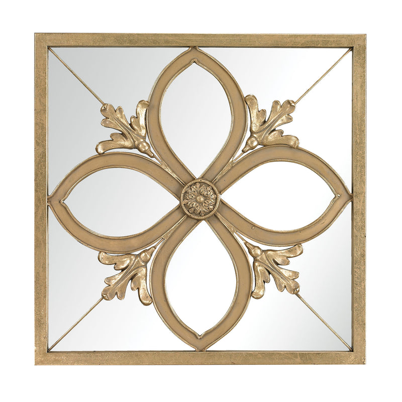 Albern Four Leaf Clover Mirror - Gold Leaf