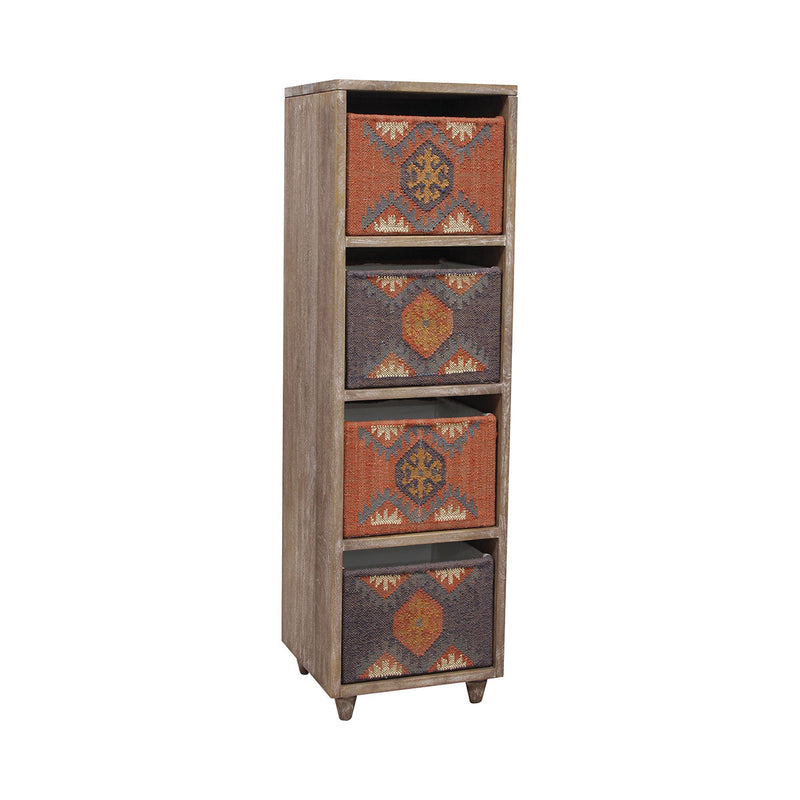 Ituha Shelf in Rust,Navy