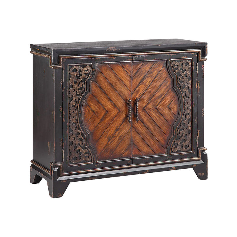 Rayne Cabinet in Hand-Painted,Antique Black