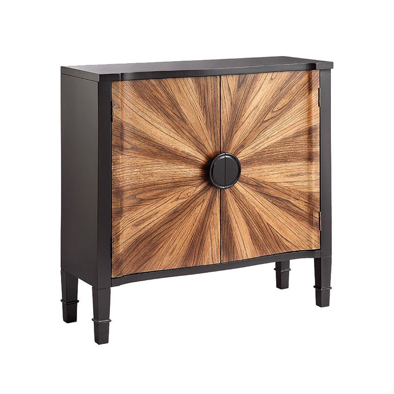Zora Cabinet in Hand-Painted,Black,Natural Oak