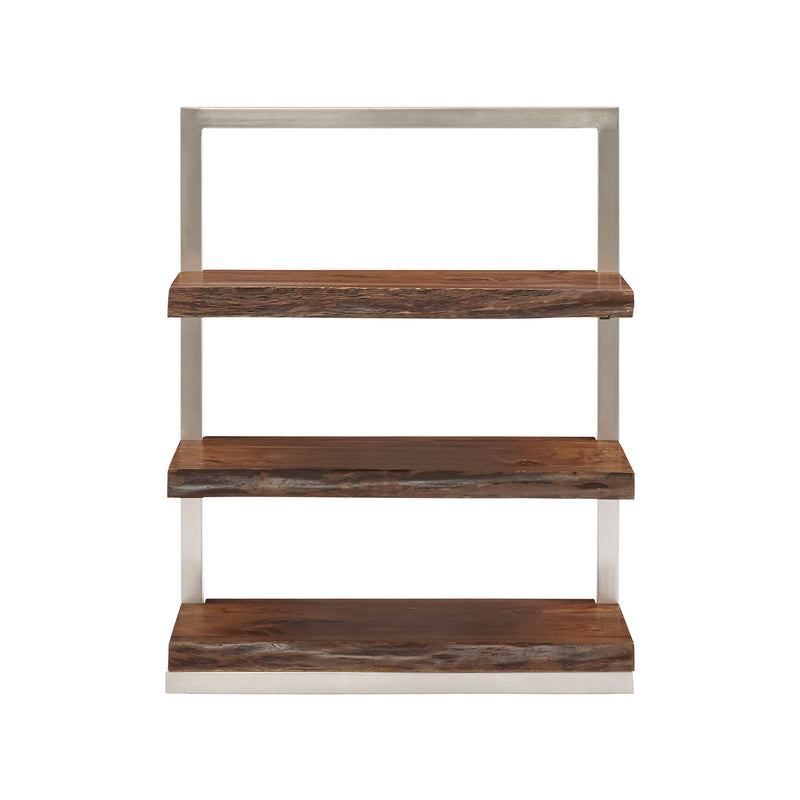 Climber Short Shelving Unit in Silver