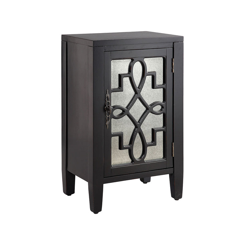 Leighton Cabinet in Hand-Painted,Black