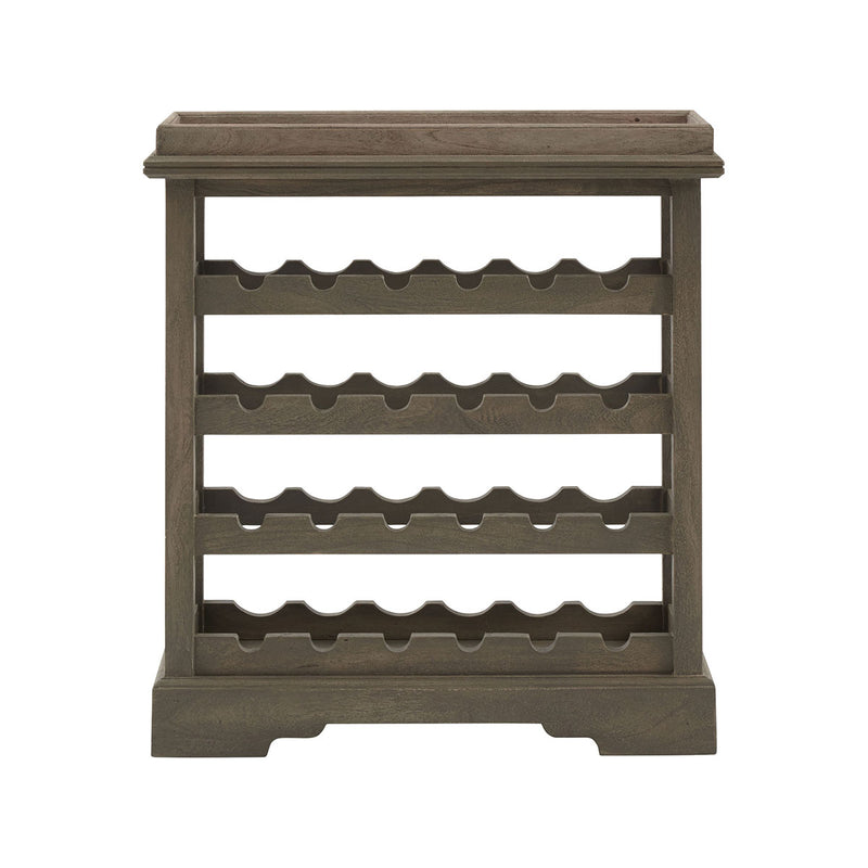 Kathie Wine Cabinet in Grey