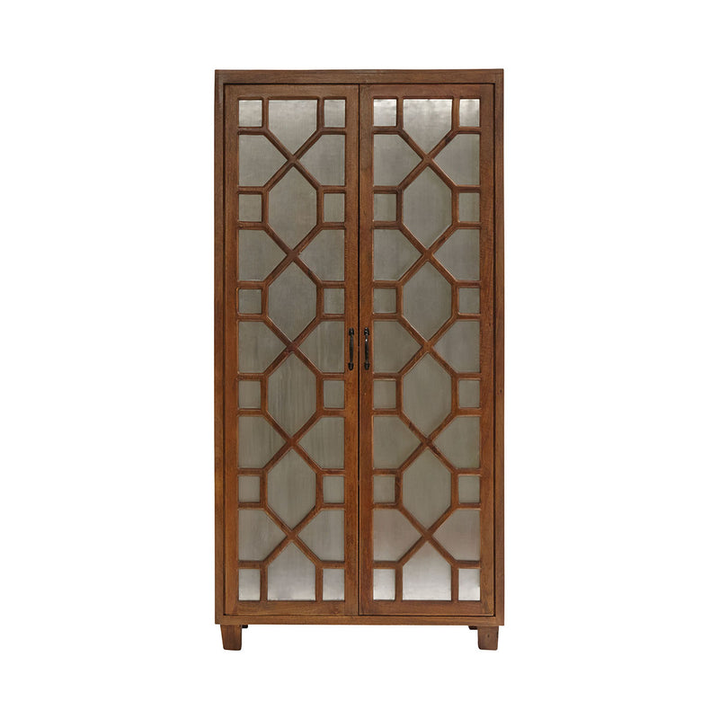 Gunther Armoire in Brown,Wood-Tone,Black