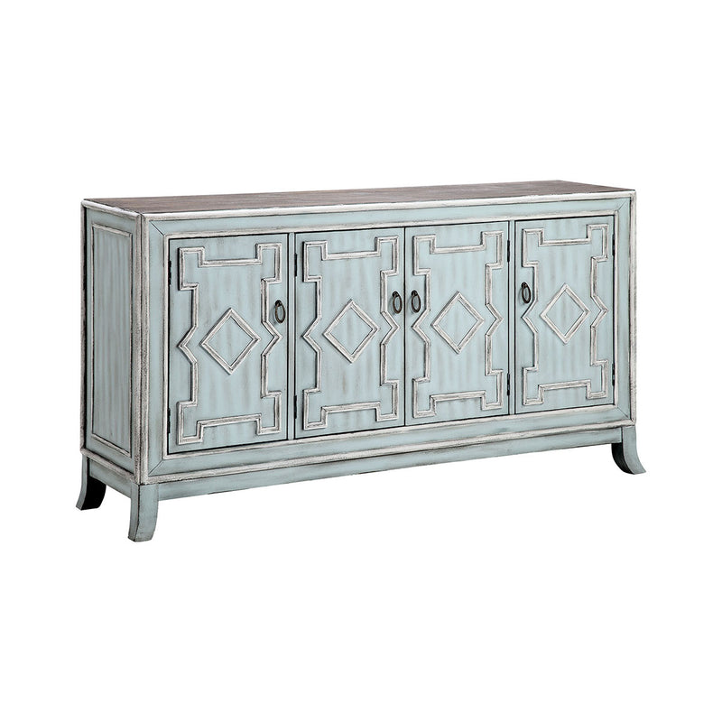 Aztek Cabinet in Antique Bronze