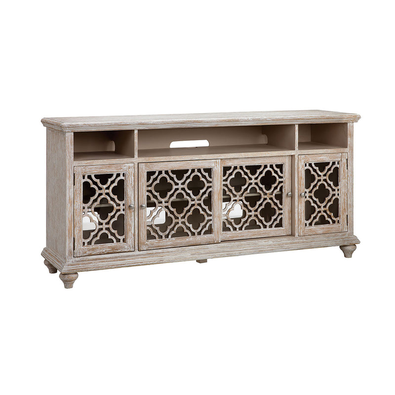 Batanica 72-Inch Entertainment Console in Cream