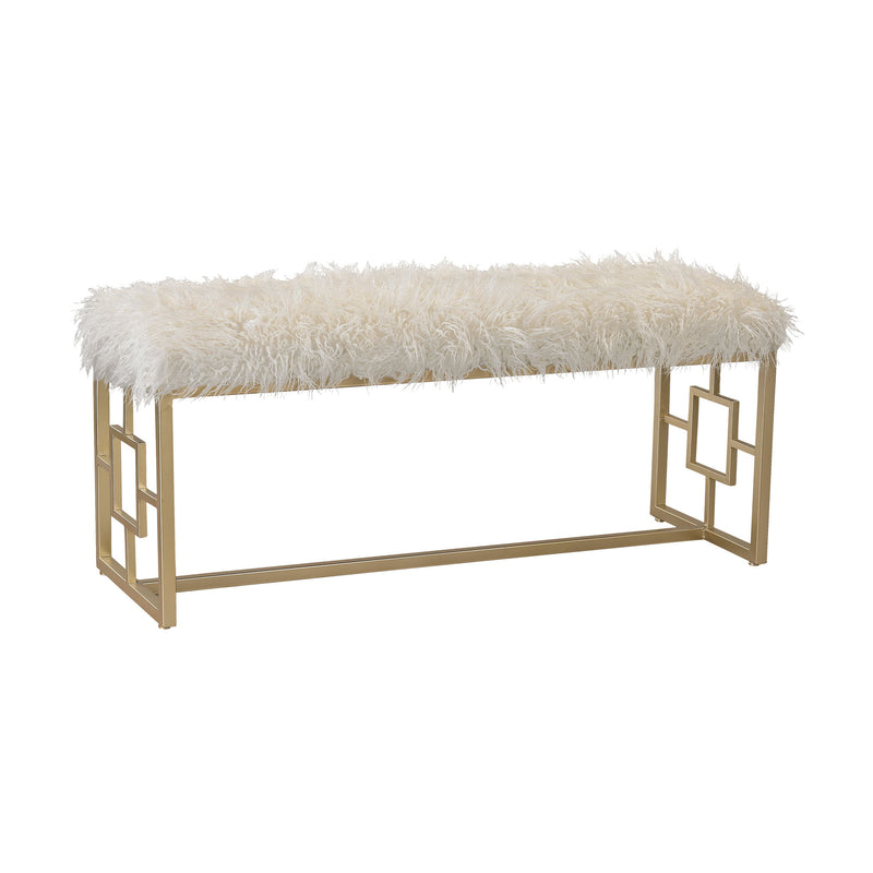 Betty Retro Double Bench - Gold