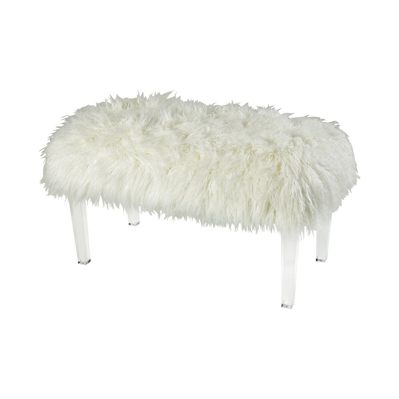 Zsa Zsa Bench - Medium - White