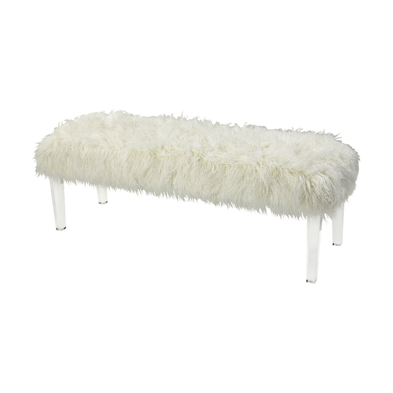 Zsa Zsa Bench - Long - White