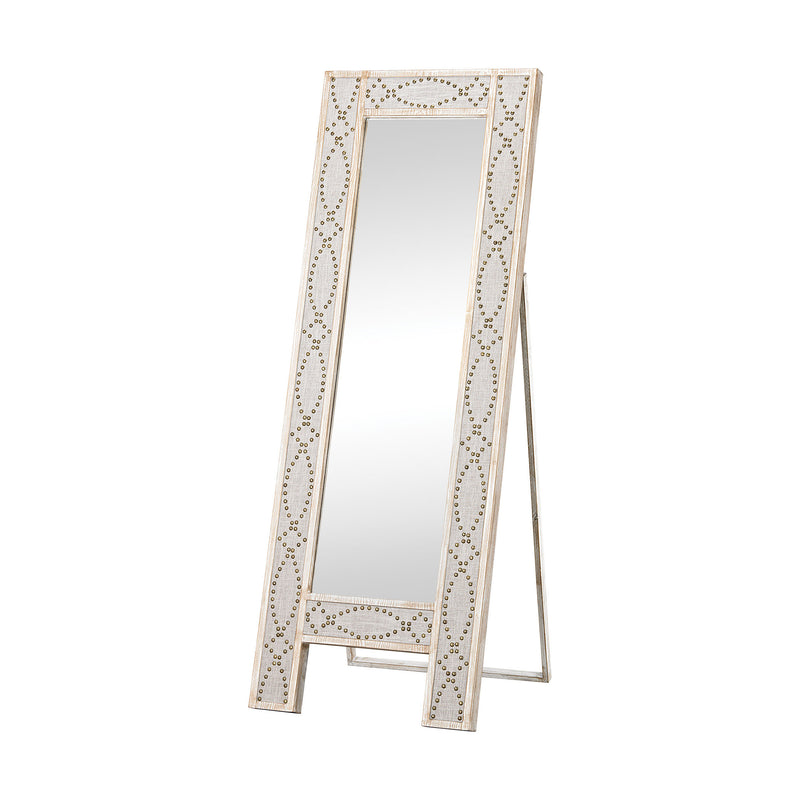 Albiera Dressing Mirror - Driftwood Grey