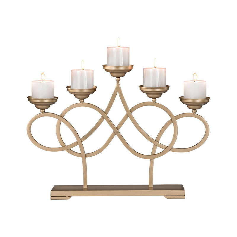 Internationale Candelabra - Soft Gold