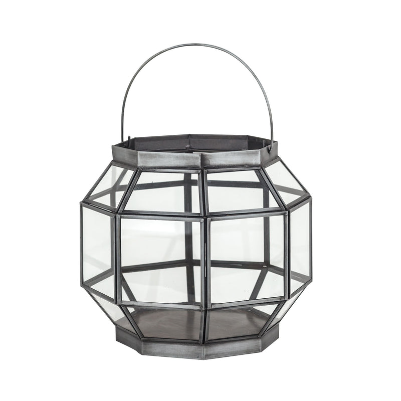 Helix Lantern Small - Clear