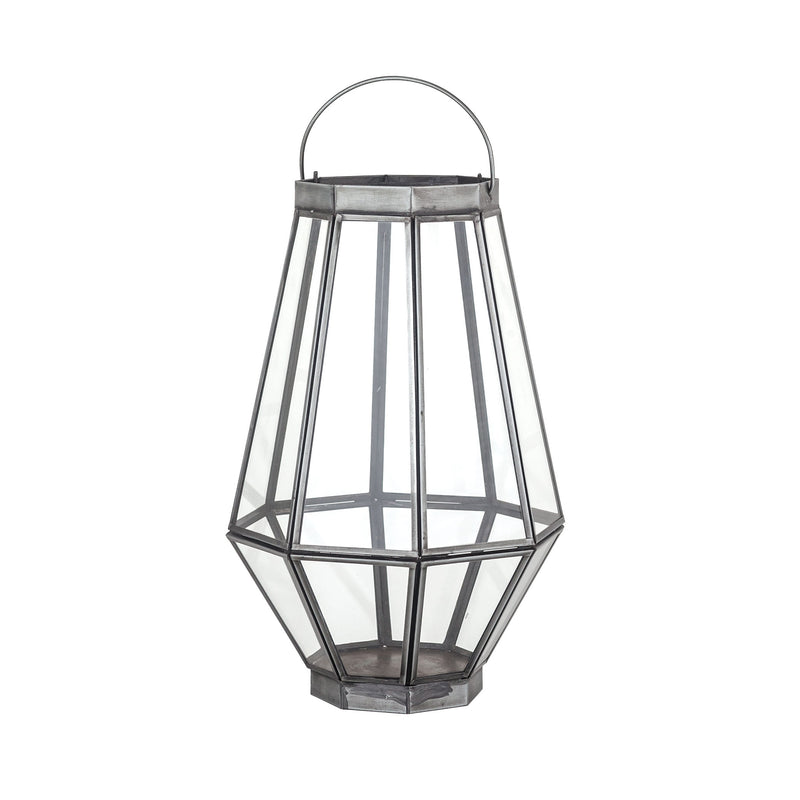 Helix Lantern Large - Clear