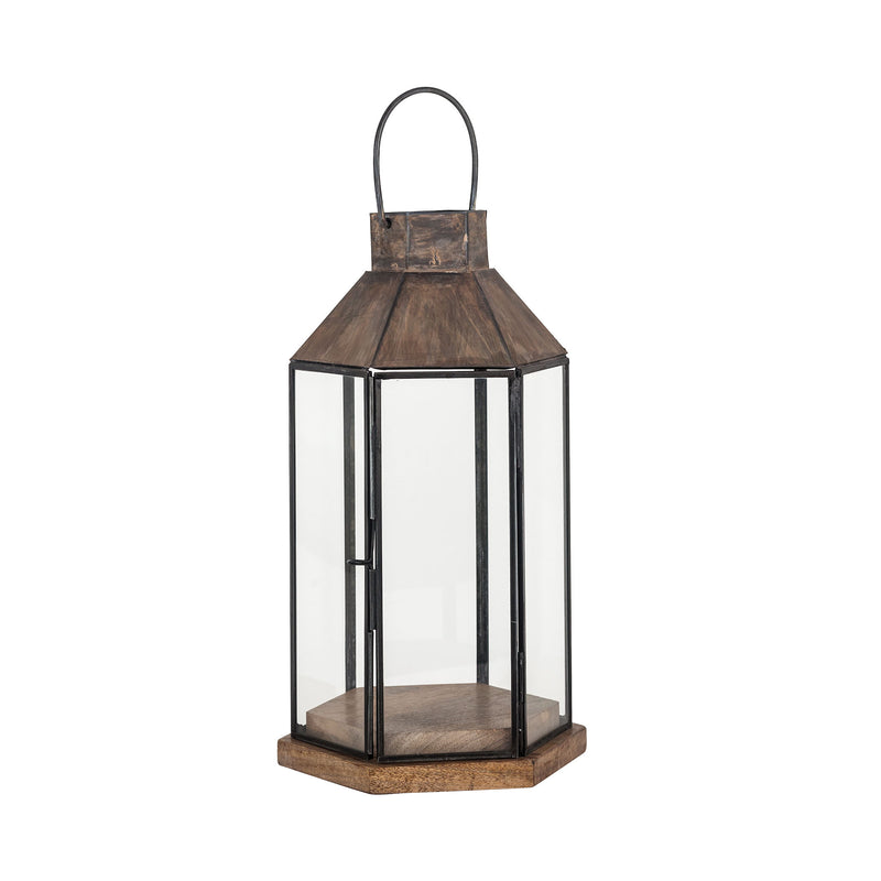 Franklin Lantern - Antique Zinc