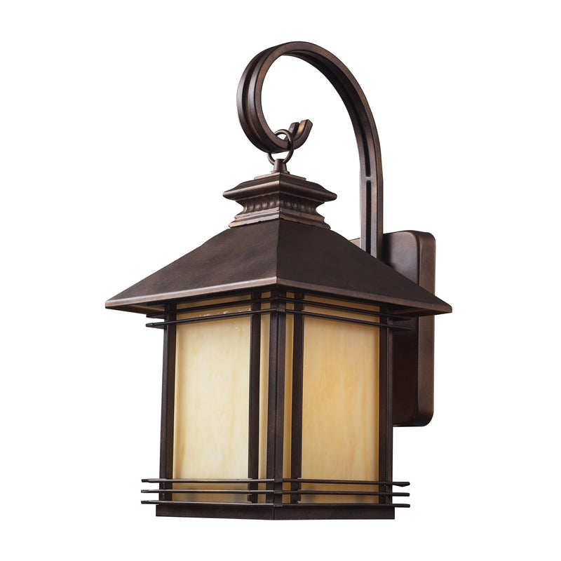 Blackwell 1 Light Outdoor Sconce In Hazelnut Bronze - Hazlenut Bronze