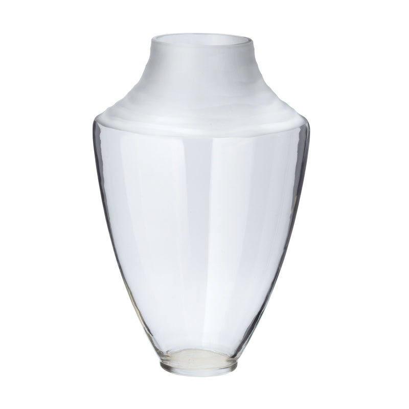 Spin Cut Pure Vase - Clear - Clear