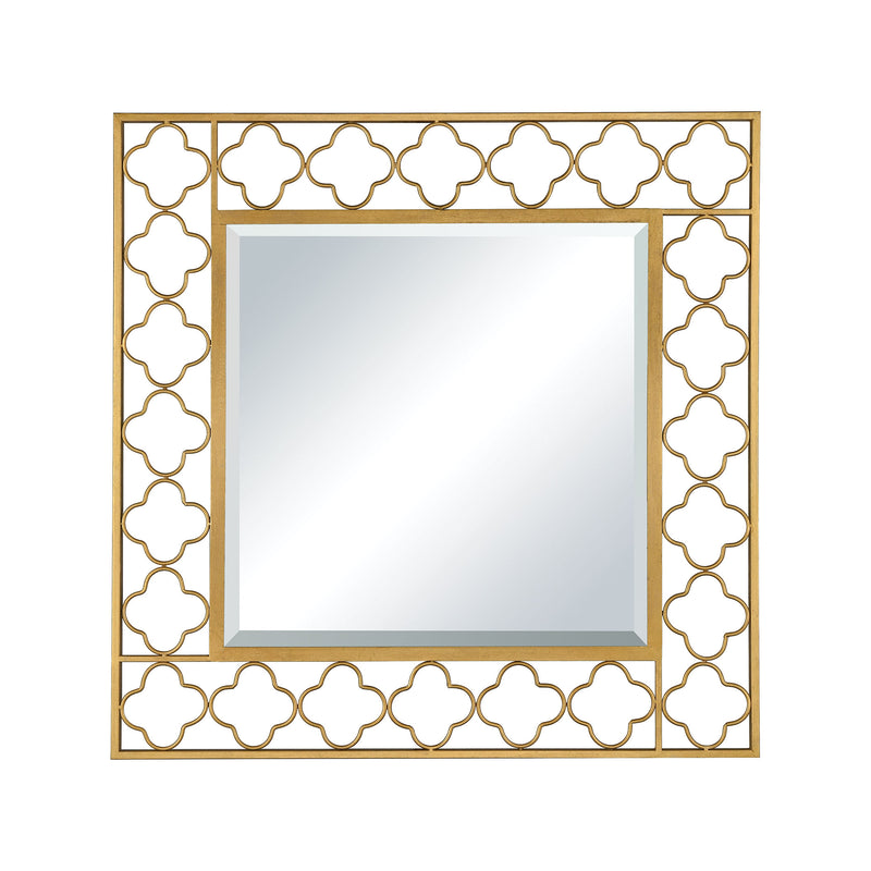 Aqaba Wall Mirror - Antique Gold