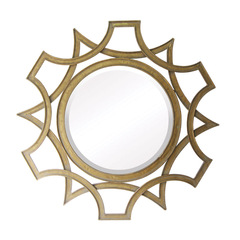 Abberley Beveled Mirror - Antique