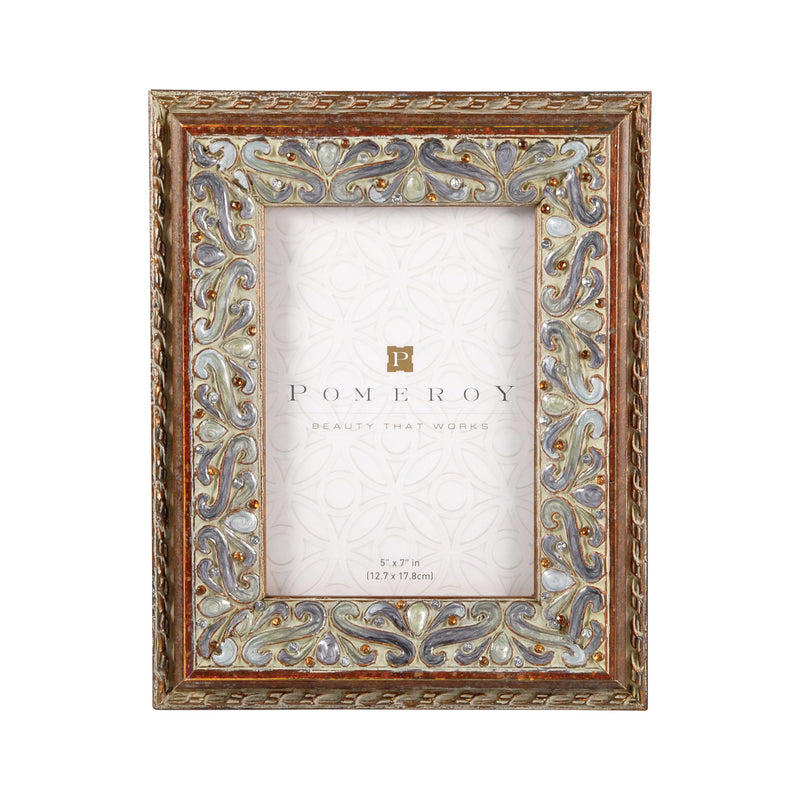 Montague Frame 5x7 - Antiqued Sequoia