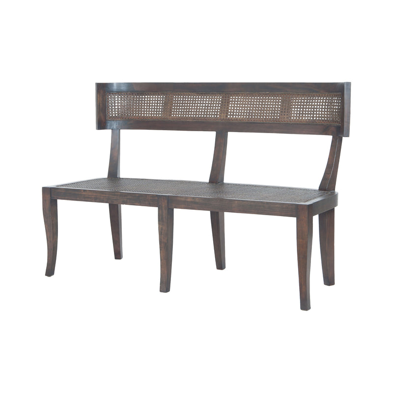 Country Bench - Heritage Dark Grey Stain with no distress