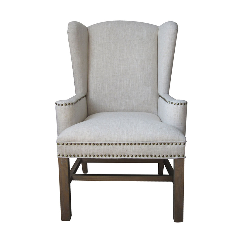 Allcott Wing Back Chair - Toffee