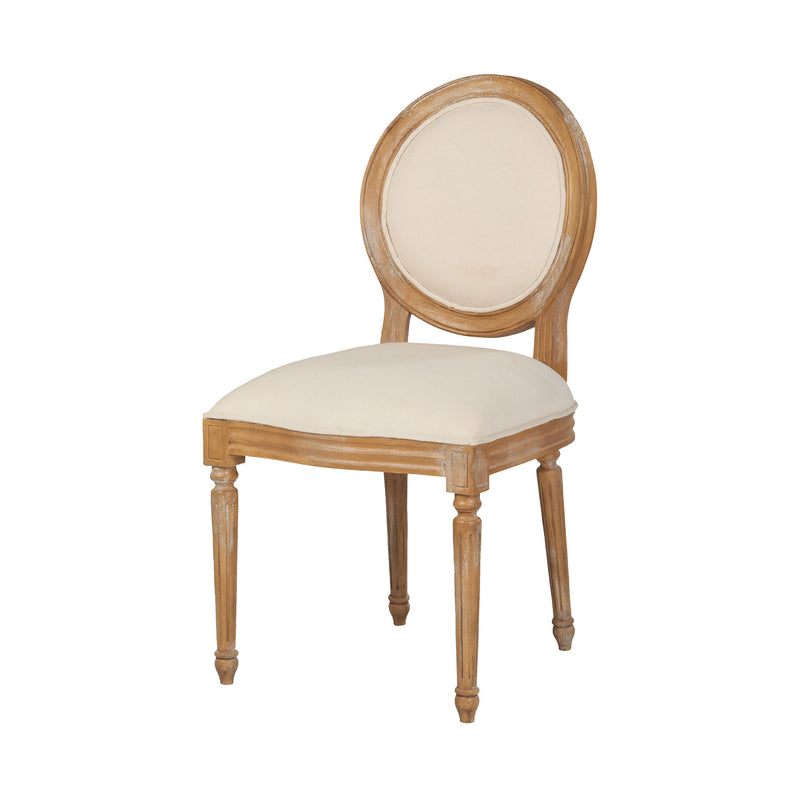 Allcott Side Chair In Sandblasted Artisan Stain - Sandblasted Artisan Stain