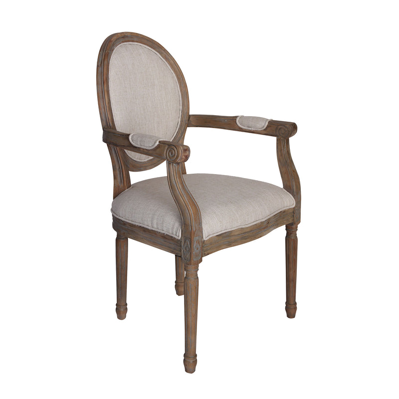 Allcott Arm Chair - Toffee