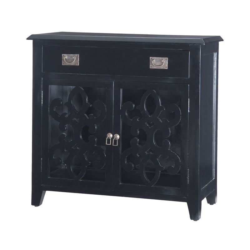 Alsace Chest In Black - Black