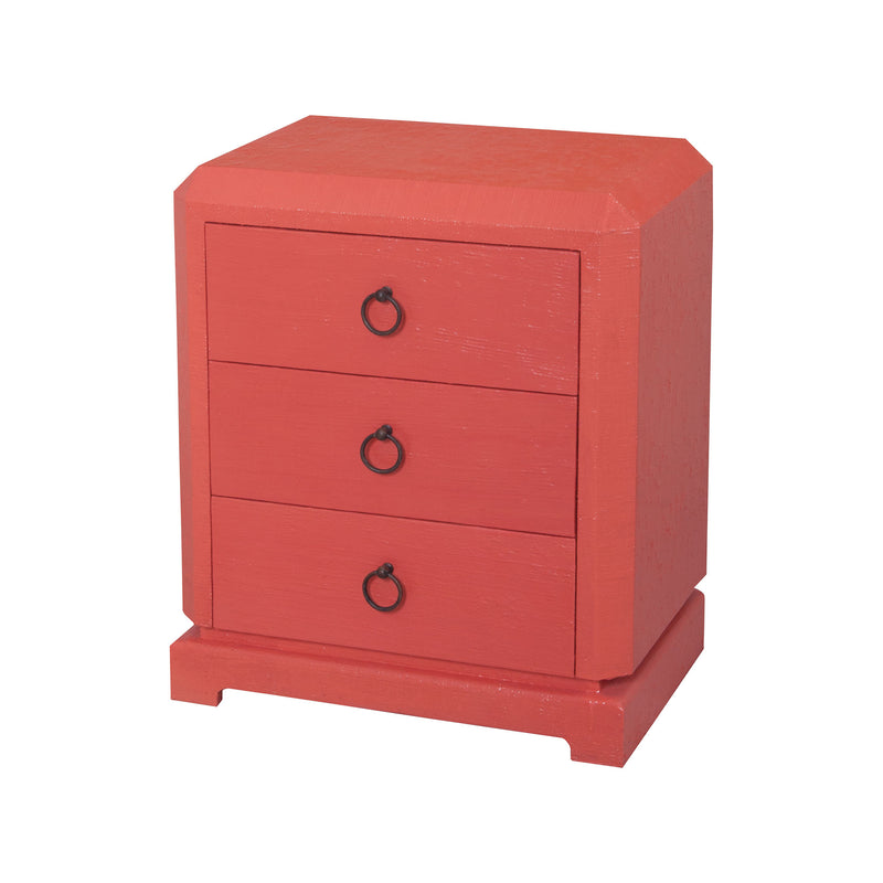 Barbados Small Chest - Coral