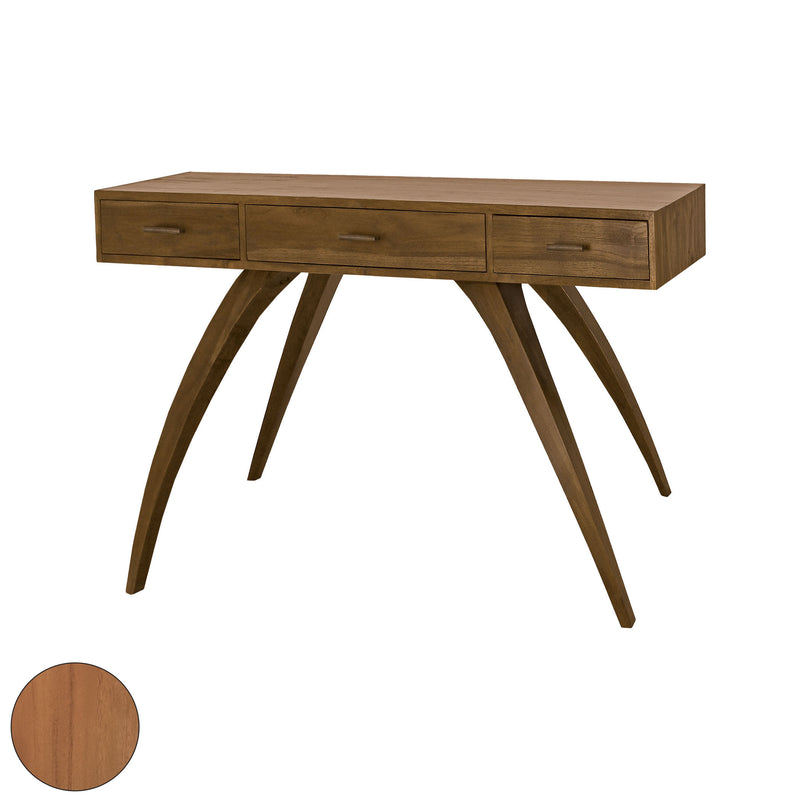 Teak Patio Console With Storage In Euro Teak Oil - Euro Teak Oil