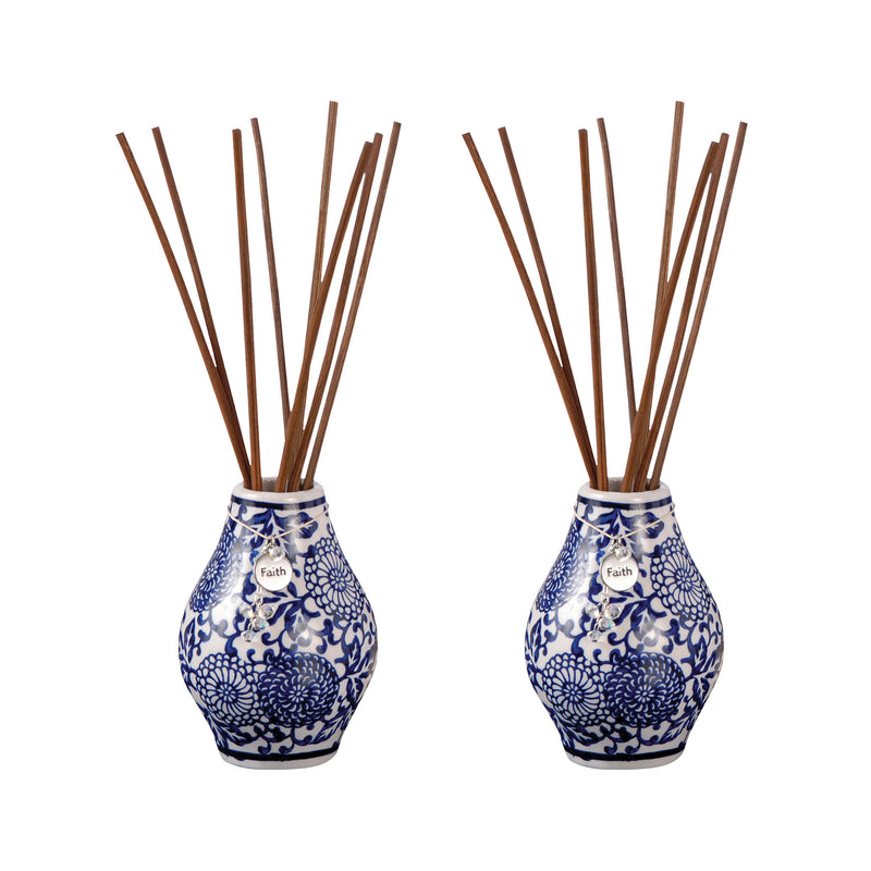 Solstice Sapphire Set of 2 Reed Diffusers - Sapphire