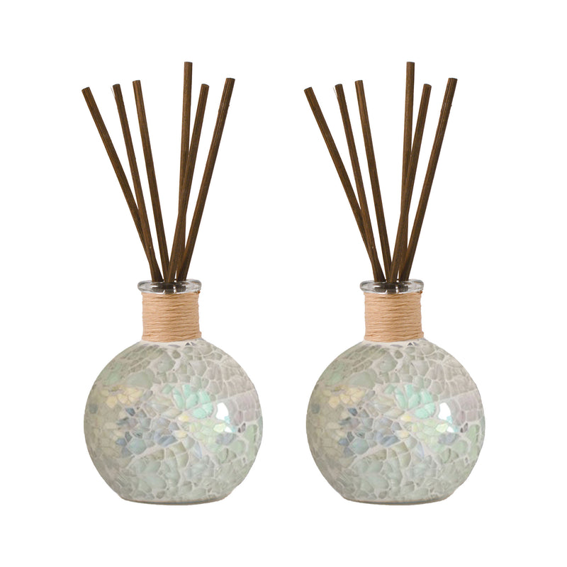 Montage Set of 2 Reed Diffusers Open Stock - Pearl Mosaic