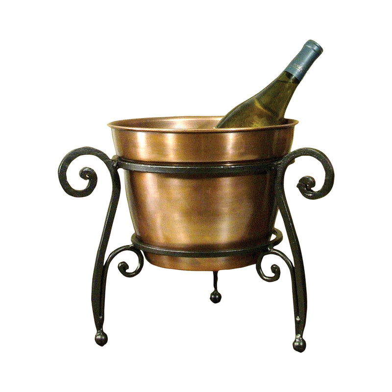 La Forge Beverage Bucket - Rustic,Copper