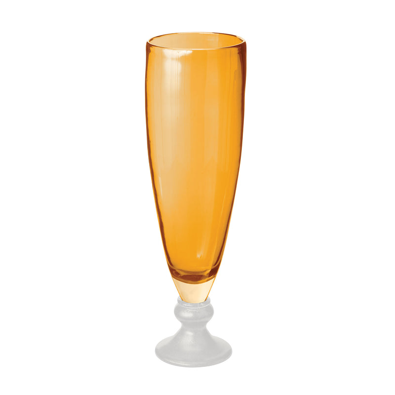 Sunset Pearl Vase - lg - Gold or Orange?