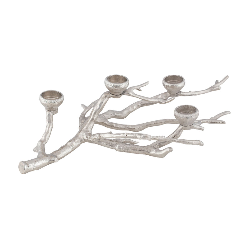 Sprigge Candle Holder - Nickel