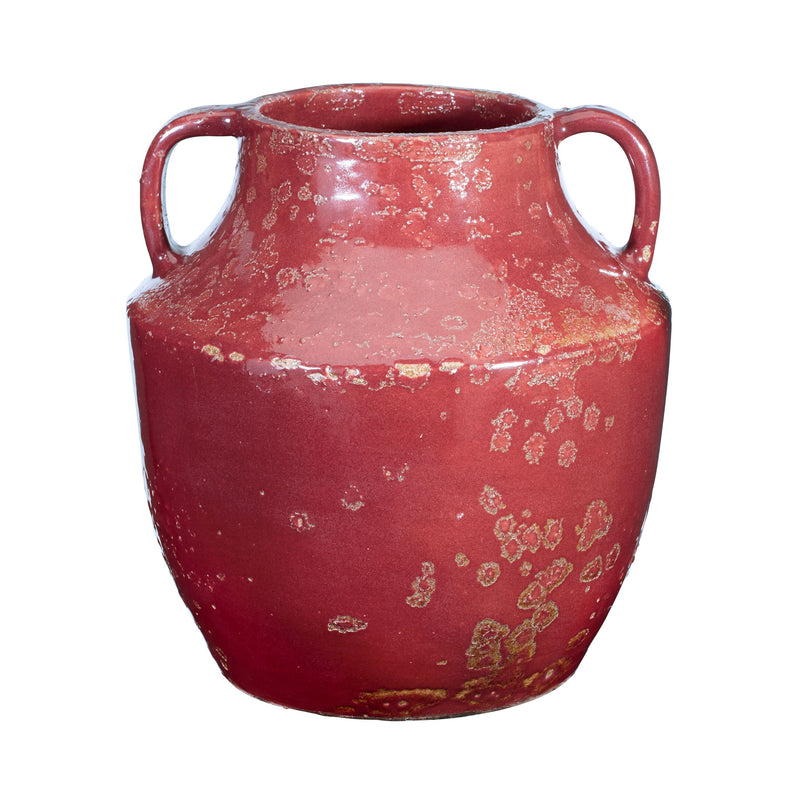 Rustic Sangria Handled Jug - Red