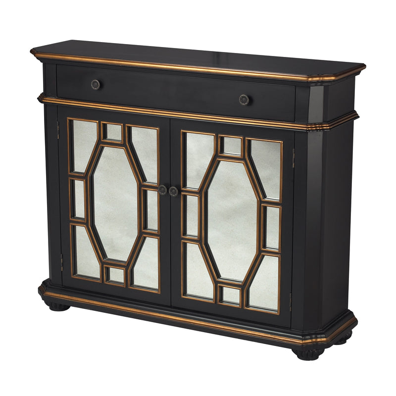 Presidio Cabinet - Antique Silver