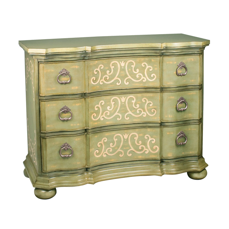 Argent Scroll Chest - Cream