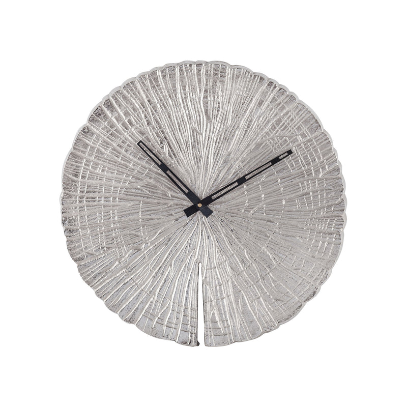 Cape Crozier Wall Clock - Nickel